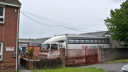 Titan Ladders Ltd was based in Mendip Road, Yatton, before moving to Clevedon. Picture: David Kennef
