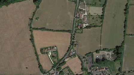 The houses will be built on Cheddar Road in Wedmore. Picture: Google