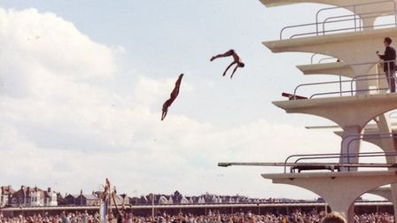 Diving boards were once in situ at the Tropicana,