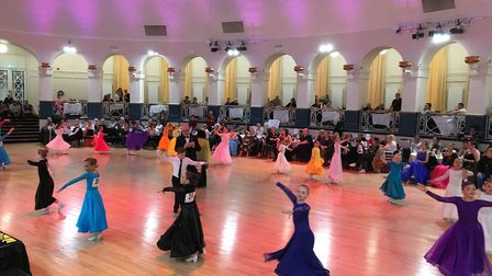 Dancers from across the country took part in the inaugural Weston Dance Festival. Picture: Tansin Be