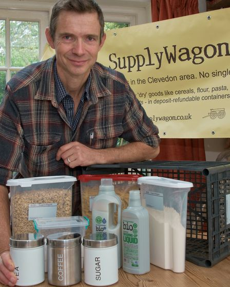 Chris Boddington - The SupplyWagon, soon to be delivering organic groceries in no waste packaging in