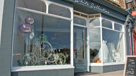 The White Collection Bridal Ltd., new branch in Portishead.Picture: MARK ATHERTON