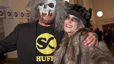 Shuffle Halloween Ball at the Winter Gardens. Picture: MARK ATHERTON