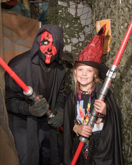 Halloween day at Helicopter Museum. Picture: MARK ATHERTON