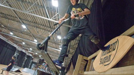 Transend Skatepark at the Tropicana. Picture: MARK ATHERTON