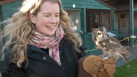 Halloween open day at Avon Owls, in Banwell. Picture: MARK ATHERTON