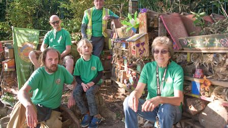 Friends of Grove Park at the bug city. Picture: MARK ATHERTON
