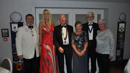 Special guests at Yeo Valley Lions' 50th anniversary meal. Picture: Yeo Valley Lions