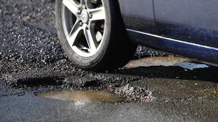 More than £1million has been allocated to repair damaged roads. Picture: Joe Giddens/PA Wire