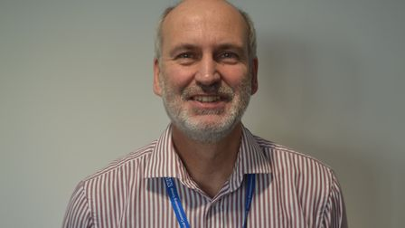 ISS programme manager Denys Rayner. Picture: Eleanor Young