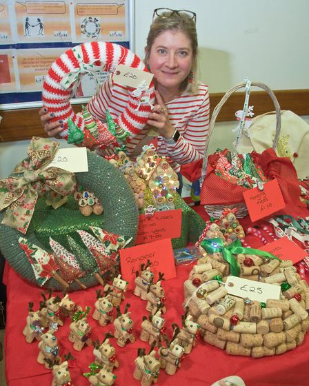 Rachel Duffy - Crafty Christmas at Moor Hens WI Christmas Fair. Picture: MARK ATHERTON