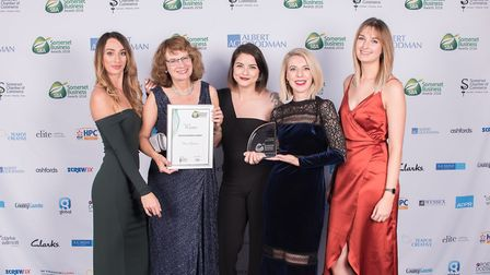 Bowen Opticians picked up a Somerset Business Award for service excellence. Picture: Katherine Sykes