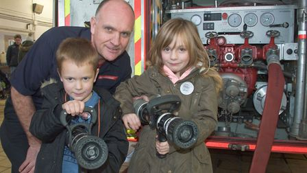 Weston Fire Station Open Day. Picture: MARK ATHERTON