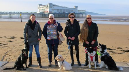 The Bark Side of Weston hopes to raise hundreds of pounds from its charity calendar. Picture: Martin