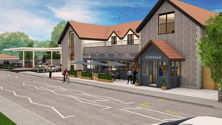An artist's impression of Tout Ltd's plans for the Lord Nelson. Picture: Tout Ltd