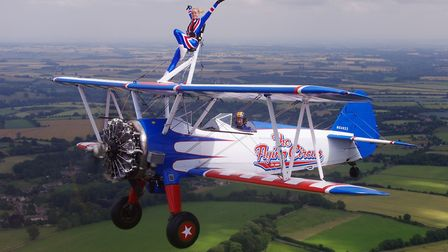 Do you have what it takes to join Weston Hospiceares wing-walk?