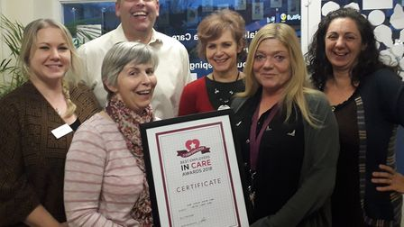 Home Instead Senior Care has been given a Five Star Employer award. Picture: Sub