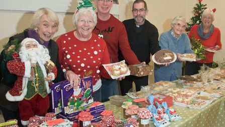 Christmas fair at St John's Church, in Lower Church Road. Picture: MARK ATHERTON