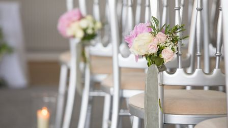 You can pick seasonal flowers to decorate the venue at a wedding at The Royal Hotel in Weston-super-
