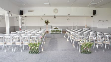 A wedding at The Royal Hotel in Weston-super-Mare can be tailored to suit the couple. Picture: Danie