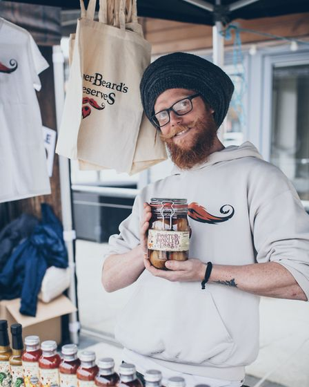 Gingerbeards Preserves will be at eat:Christmas. Picture: Jean-Philippe Baudey