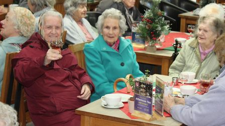 Cheddar Vale Lions Club hosted a senior citizen shopping event.