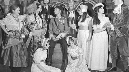 Gilbert and Sullivan at its liveliest was seen at Nailsea School, when The Pirates of Penzance saile