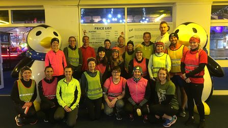 Weston Hospicecare's Kelsey Dehaney will run the Christmas Cracker. Picture: Weston Hospicecare