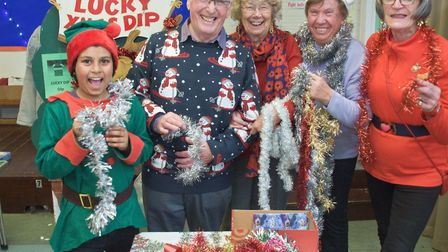 St Mary's Church Christmas fair at Yatton Junior School. Picture: MARK ATHERTON