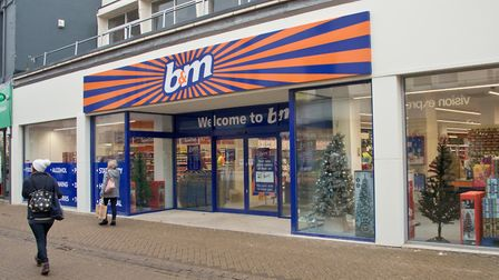 The new B&M store in Weston High Street. Picture: MARK ATHERTON