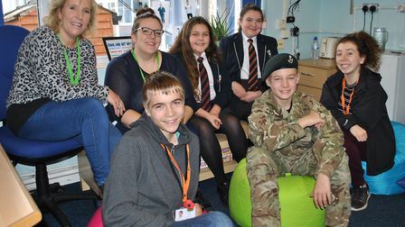 A youth hub has been formed at Gordano School. Picture: Portishead Youth Centre