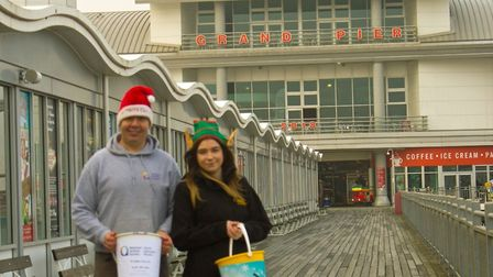 Santas Grotto will open this weekend at The Grand Pier in Weston.Picture: Ben Egryn Nicholas