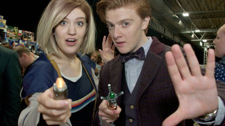 The Stars Of Time Film And Comic Con event will return to The Tropicana. Picture: MARK ATHERTON