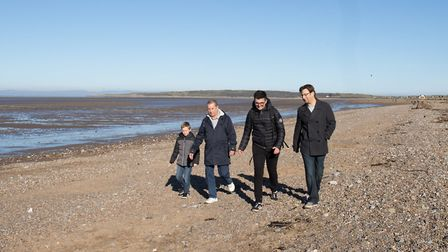 Walkers will start at the Grand Pier and walk to Sand Point via Weston Woods and the Sand Bay coast