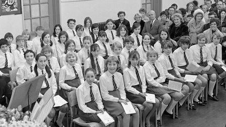 Worle Secondary School Speach Day. A section of the pupils at the prizegiving. Picture: WESTON M