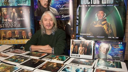 Stars of Time Film and Comic Con. Weston Tropicana. Prolific SciFi and actor Clem So. Picture: MAR