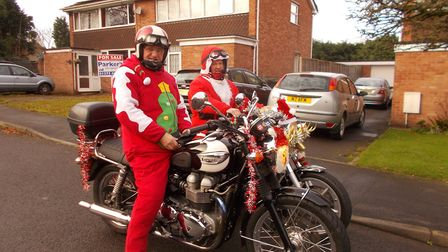 Henry and Lance Matyjasik will be raising cash for Children's Hospice South West by tkaing part in t
