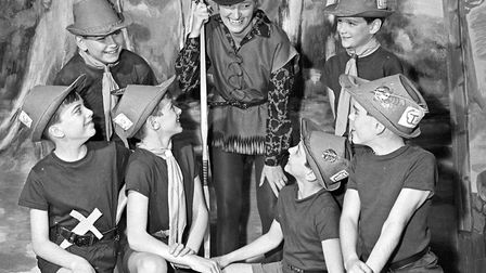Cheddar WI pantomime Robin Hood and his Merry Men, with the A.I.M School of Dancing. Iris Crane (Rob