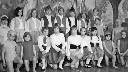 Cheddar WI pantomime Robin Hood and his Merry Men, with the A.I.M School of Dancing. Picture: WESTON