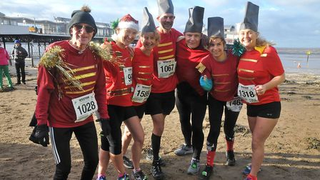The Nutcrackers (Great Weston Runners). Picture: Jeremy Long