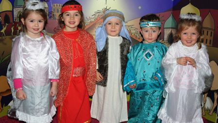 Children from The Nursery performing their Christmas show.