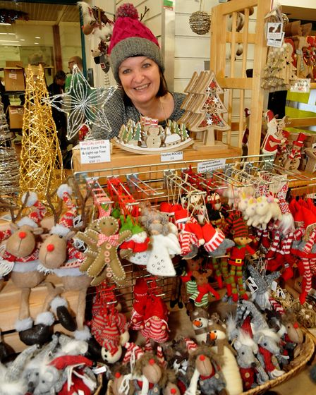 Kate of CoCo and Nedeat:Christmas W-s-M moved into the Sovereign Centre after a forecast for strong