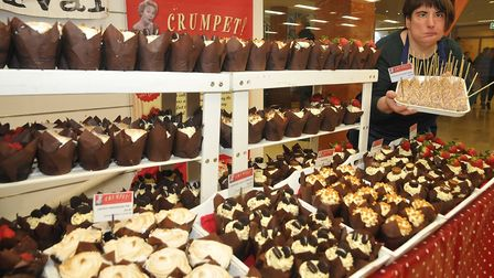 Becca from Crumpetseat:Christmas W-s-M moved into the Sovereign Centre after a forecast for strong w