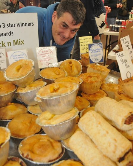 Scott of The Unusual Pork Pieeat:Christmas W-s-M moved into the Sovereign Centre after a forecast fo