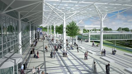 Bristol Airport has this week put in a planning application for a larger terminal. Picture: Bristol