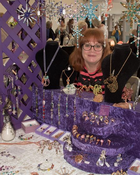 A Winter Festival of Love and Light. Fantastical Gems Emporium. Picture: MARK ATHERTON