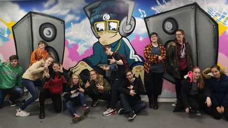 Young carers were invted to AirHop. Picture: Alliance Homes