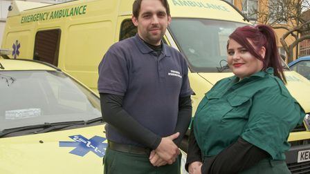 Mike Loud and wife Emma are hoping to set up a network to help the homeless in Weston. Picture: M
