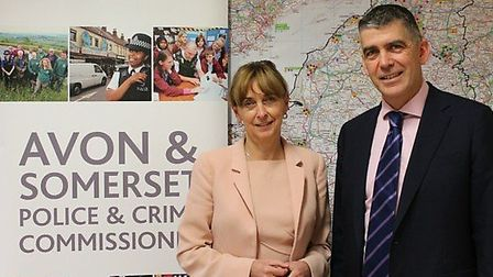 Police and Crime Commissioner (PCC) Sue Mountstevens and Chief Constable Andy Marsh