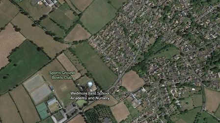 Strongvox Homes will build 35 houses to the east of Wedmore First School. Picture: Google